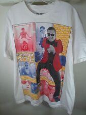 XL white TShirt Funny! PSY BRAND Gangnam Style SOUTH KOREA seoul DANCE music
