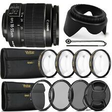 Canon EF-S 18-55mm f3.5-5.6 IS II Lens with Top Filter Set For Canon 1300D 1200D