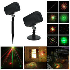 Waterproof Garden Laser Projector Light Outdoor LED Party Christmas Stage Effect