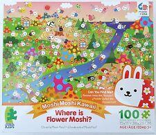 CEACO® KIDS MOSHIMOSHIKAWAII® WHERE IS FLOWER MOSHI? 100pc Jig Saw PUZZLE