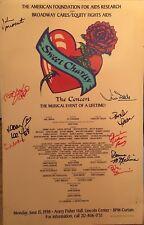 Bebe Neuwirth ++ Signed SWEET CHARITY Benefit Broadway Poster Windowcard
