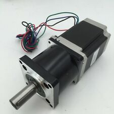 Nema23 Geared 10:1 Planetary Gearbox Stepper Motor L112mm Speed Reducer CNC