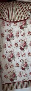 Waverly Garden Room Vintage Rose Fabric Shower Curtain