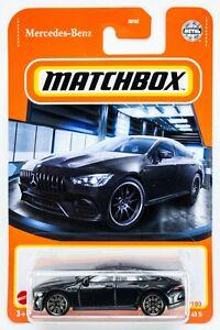 2021 Matchbox #37 '19 Mercedes-AMG GT 63 S OBSIDIAN BLACK METALLIC / MOC