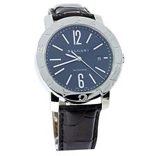Gentlemens Bulgari Bvlgari Stainless Steel Automatic Watch on a Strap