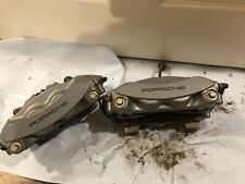 Porsche Cayenne Rear Brake Calipers 2018+ 4 Pot Calipers Used Pair Also Panamera