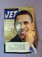 Jet Magazine June 2009 America's Favorite Family Man Barack Obama, Black Music