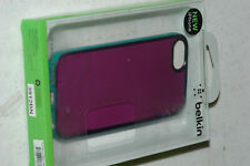 BELKIN GRIP CANDY SHEER COVER CASE FOR APPLE IPHONE SE 5 5S Purple