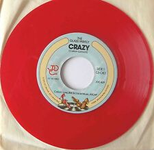 "THE GLASS FAMILY : Crazy (7"" USA RED VINYL 1979) -MINT-"
