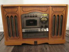 New listing working record player Thomas Pacconi Phonograph, Radio,Cd,Cassette Tpc-Hd-12