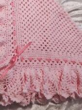 No 101 Pineapple Baby Shawl Crochet Pattern