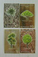 St. Vincent SC #968-714 TIMBERS  MNH stamp set