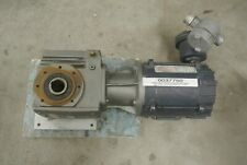 Nord Gear Box with Motor 1263A 56C56 Gear Ratio 413:1 3.80 RPM