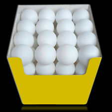 VABIONO Tischtennis-Bälle Tischtennisbälle PingPong Ball weiß Ø40mm 3*** o.Aufdr