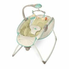Rocking Newborn Bassinet Baby Crib Nursery Furniture Sleeper Cradle Bed NEW
