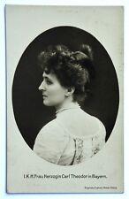 Cartolina Originale I.K.H. Frau Herzogin Carl Theodor In Bayern