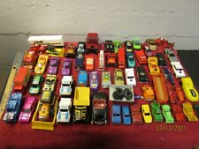 Large Lot Matchbox Hot Wheels Cars Trucks + Other Odd Cars McDonald Stompers