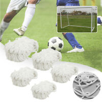 Football Soccer Goal Post Nets For Sports Training Match Replace Multi Size *