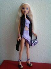 My Scene Club Birthday Barbie Doll Blonde Hair Original Clothes Purse Shoes