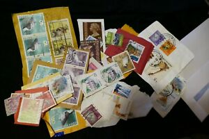 56 Hong Kong postage stamps philately philatelic postal kiloware mail