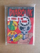 Diabolik Anno XXX n°7 con adesivi   [G566]