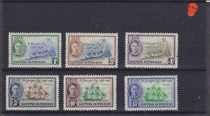 British Honduras KGVI SG 166/171 Cat £6.65 Mounted Mint