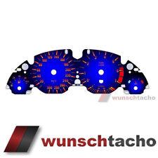 Tachoscheibe f.BMW E38-E39/X5*Blue*300Kmh Benziner M5