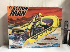 Action Man Dinghy Boxed With Motorised Outboard Engine (Not-working) Hasbro 1993