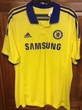 Adidas Chelsea FC Football Soccer Yellow Away Jersey 2014 Men XL NWT New M37745