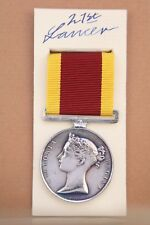BRITISH INDIAN ARMY HEIC ROYAL NAVY 1st CHINA OPIUM WAR MILITARY MEDAL BOXED
