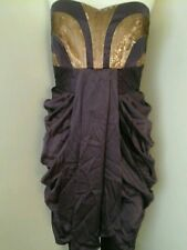 MONSOON GLAMOROUS  100% SILK SEQUINED DRESS BRAND NEW SIZE 14 RRP £160
