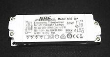 NRE 12 Volt Transformator Niedervolt Halogen Trafo  20-60 Watt Modell: NRE-60K