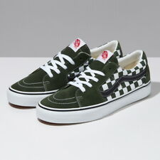 Vans Checkerboard SK8-Low Skate Shoes Low Sneakers Green VN0A4UUK2V5 US 4-12