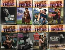 Lot Of 8 Trueblood Texas Romance Paperbacks