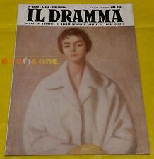 IL DRAMMA 1960 n. 286 - Copertina Antonio Bueno - Opere: vedi inserzione