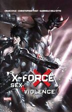 X-FORCE: SEX+VIOLENCE (deutsch) Marvel Graphic Novel #15  DELL´OTTO Wolverine