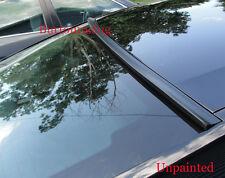 2006-2012 BMW E90 3-Series Sedan-Rear Window Roof Spoiler(Unpainted)Flat Black