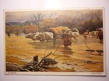 Antique Bulgarian Postcard Dimitar Giudjhenov In The Morava River