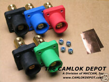 Camlok #2 - 4/0 MALE ONLY Panel Mount 3 Phase Kit