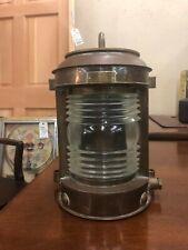 PERKO Vintage Solid Brass Nautical Lantern