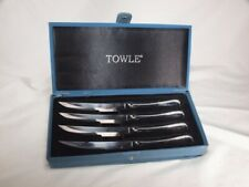Towle  CONTINENTAL BEAD   4 Piece Steak Knife   NEW in Box