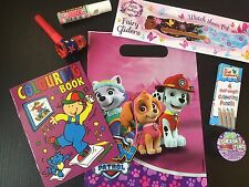 Paw Patrol Girls Pre Filled Goody Bag, Ready Made Birthday Party Loot Favours