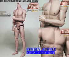 1/6 Scale Male Muscular Body JXS01 Similar to Hot Toys TTM22 SHIP FROM USA