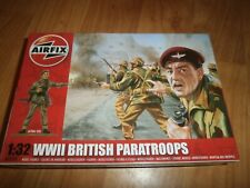 AIRFIX PLASTIC SOLDIERS WWII British Paratroops 1 32 - A02701