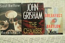 The Chamber John Grisham Ravelstein Saul Bellow Breakfast in Babylon Emer Martin