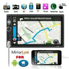 7 2DIN Touch Autoradio Mirror Link für GPS Navi Stereo MP5 Player Bluetooth FM