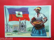 figurines cromos card figurine sidam gli stati del mondo 81 haiti bandiere flags