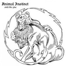"Animal Instinct - Stick It Like Glue 7"" OUTBURST BREAKDOWN KILLING TIME"