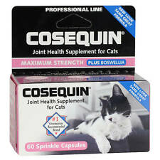 Nutramax Cosequin for Cats Joint Health Supplement for All Cats - 60 capsules
