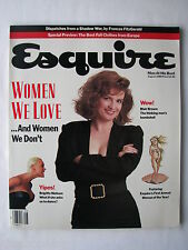 Women We Love! BLAIR BROWN, ELIZABETH DOLE, ROBBIE ROBERTSON Aug 1988 Esquire VG